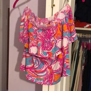 EUC  Lilly Pulitzer tank top